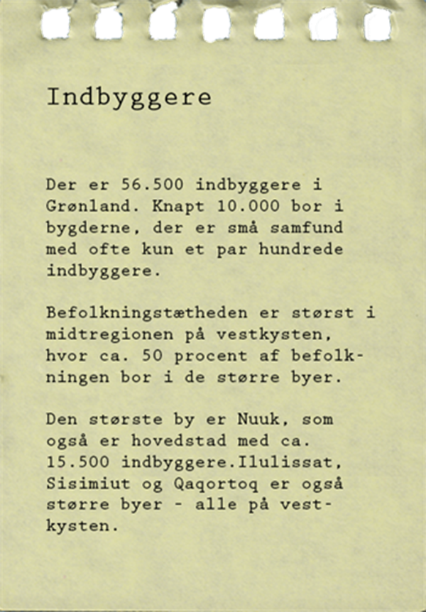 Note Indbyggere